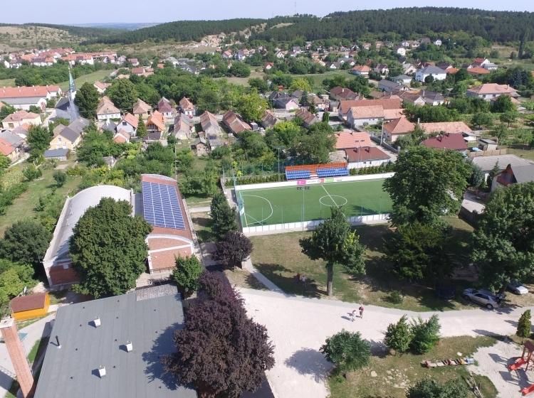 Műfüves futballpálya