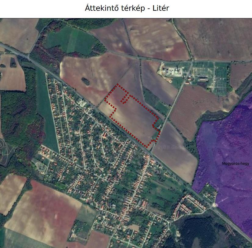 Litér, TLC Kft. telephely létesítése tárgyában környezeti hatásvizsgálati eljárás