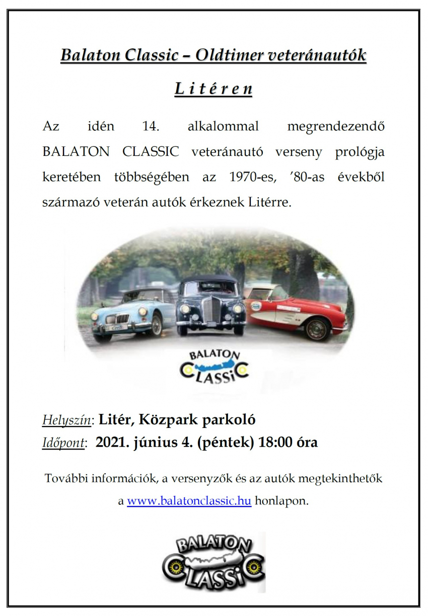 Balaton Classic - Litér, 2021.06.04.