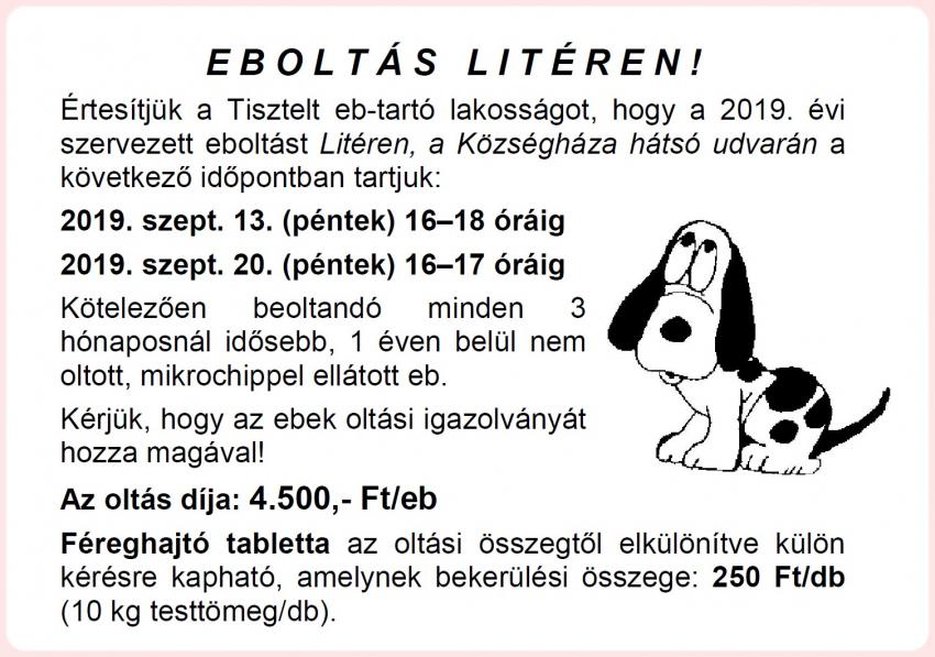 Eboltás Litéren!