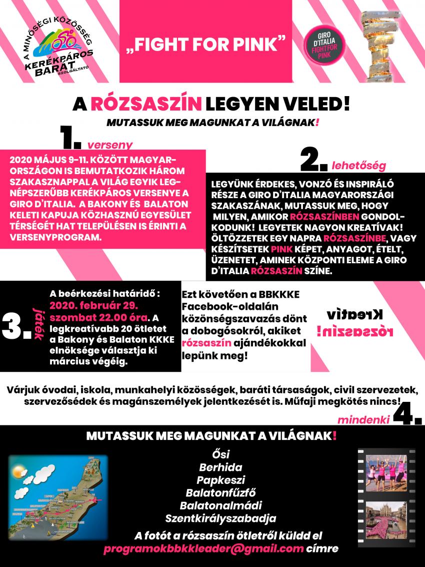 Fight for Pink! - A rózsaszín legyen Veled!