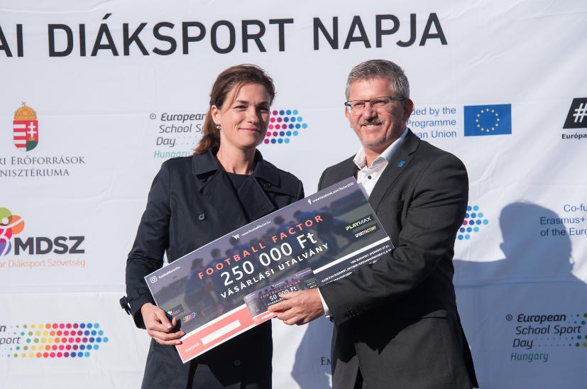 A Magyar Diáksport Szövetség díjazása