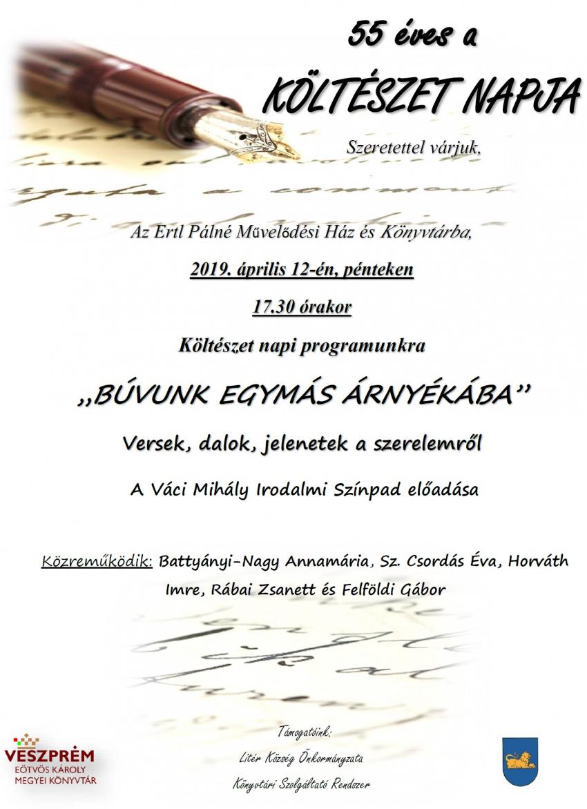 Költészet Napja Litéren!