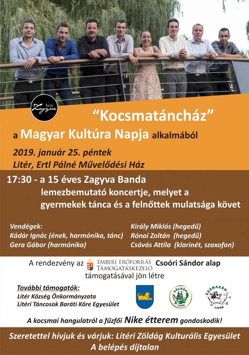 """""""Kocsmatáncház"""" a Magyar Kultúra Napja alkalmából!"""