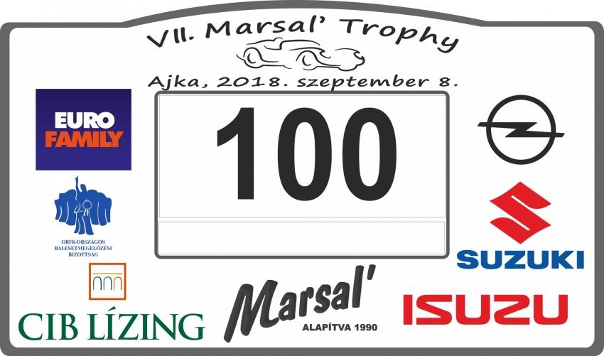 """VII. Marsal' Trophy autós tájékozódási, ügyességi """"verseny"""""""