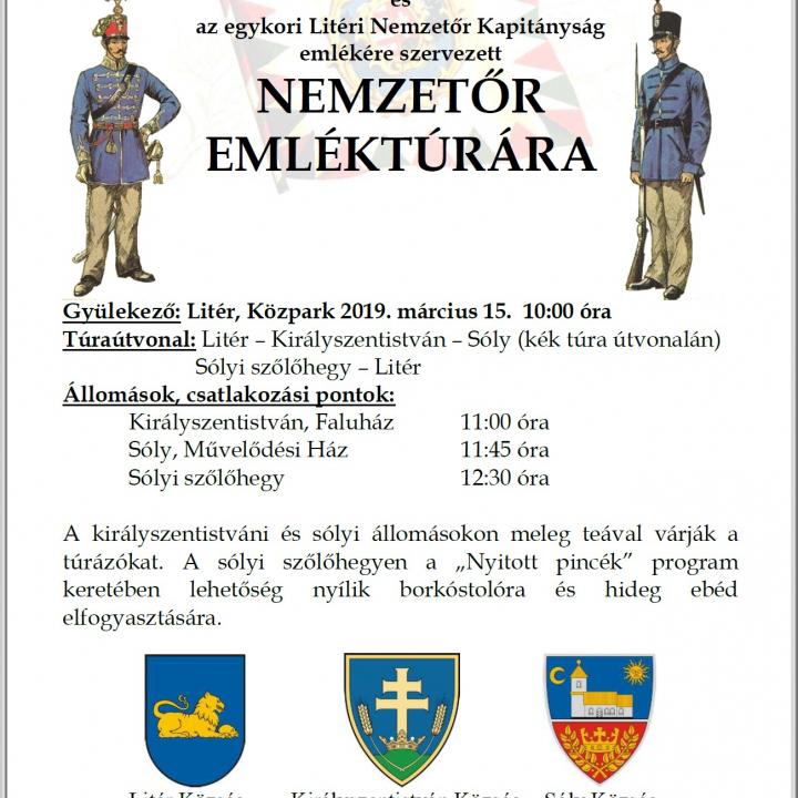 Nemzetőr Emléktúra - 2019.03.15.