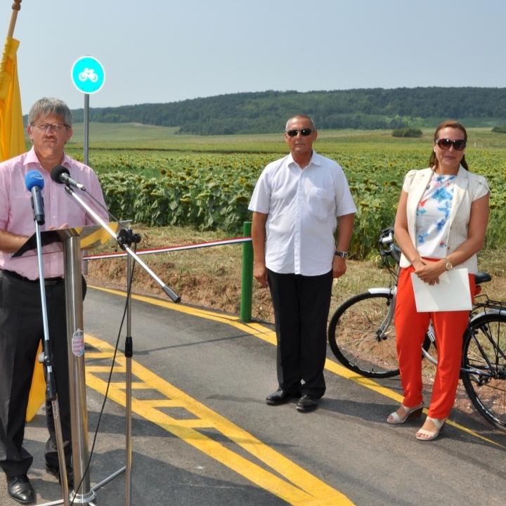 Kerékpáros turisztikai fejlesztés Balatonfűzfő-Litér-Szentkirályszabadja térségében