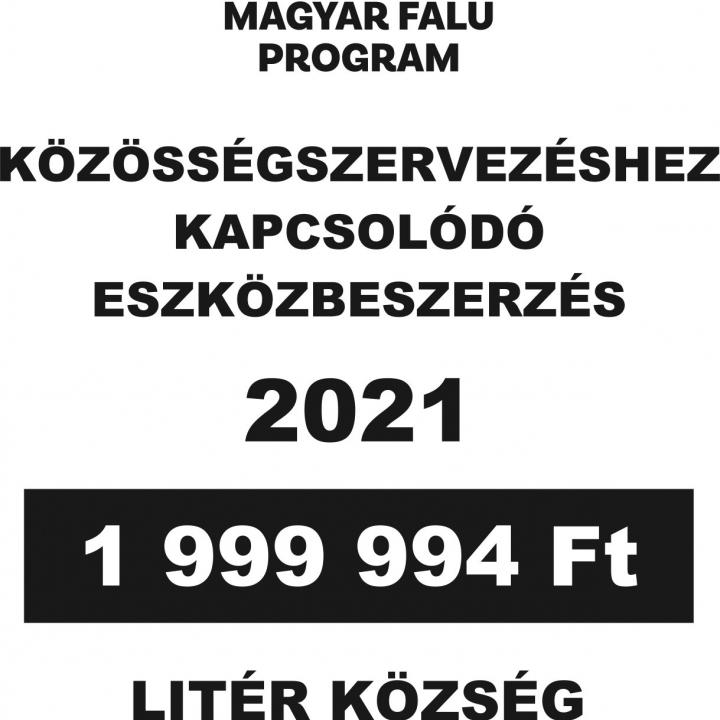 Magyar Falu Program - Közösségszervezéshez kapcsolódó eszközbeszerzés