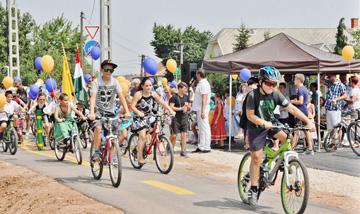 alatonfűzfő - Litér - Szentkirályszabadja kerékpárút